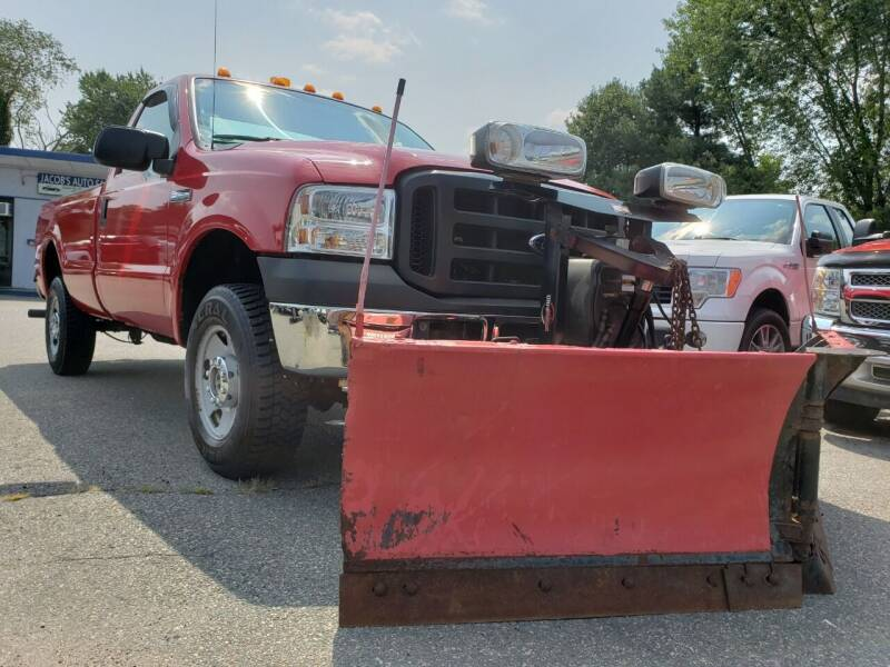 2007 Ford F-250 Super Duty for sale at Jacob's Auto Sales Inc in West Bridgewater MA
