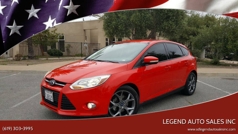 2013 Ford Focus for sale at Legend Auto Sales Inc in Lemon Grove CA