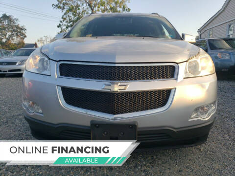 2010 Chevrolet Traverse for sale at RMB Auto Sales Corp in Copiague NY