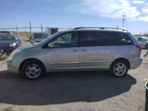 2006 Toyota Sienna for sale at PYRAMID MOTORS - Pueblo Lot in Pueblo CO