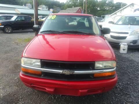 2000 Chevrolet S-10 for sale at Keyser Autoland llc in Scranton PA
