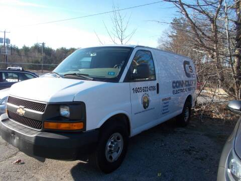 2011 Chevrolet Express Cargo for sale at Manchester Motorsports in Goffstown NH