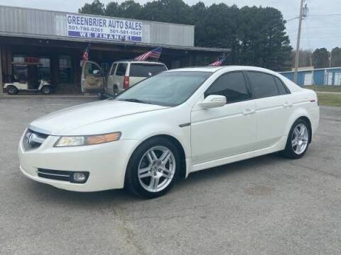 2008 Acura TL for sale at Greenbrier Auto Sales in Greenbrier AR