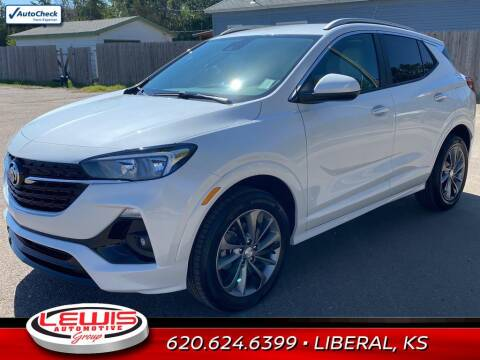 2022 Buick Encore GX for sale at Lewis Chevrolet Buick of Liberal in Liberal KS