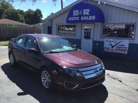 2012 Ford Fusion for sale at B & R Auto Sales in Terre Haute IN