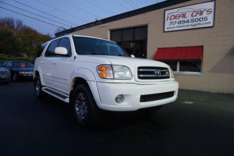 2003 Toyota Sequoia for sale at I-Deal Cars LLC in York PA