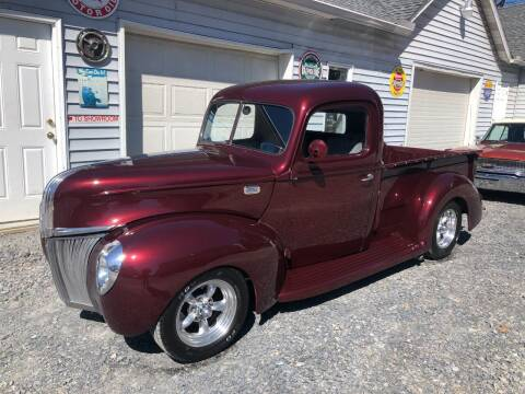 1941 Ford F-100 for sale at Right Pedal Auto Sales INC in Wind Gap PA