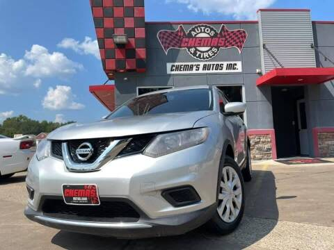 2016 Nissan Rogue for sale at Chema's Autos & Tires in Tyler TX