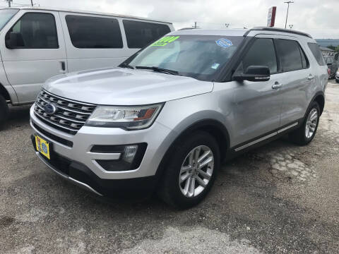 2016 Ford Explorer for sale at Atrium Autoplex in San Antonio TX