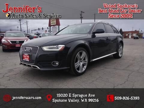 2013 Audi Allroad for sale at Jennifer's Auto Sales in Spokane Valley WA