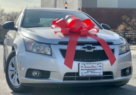 2014 Chevrolet Cruze for sale at Speedway Motors in Paterson NJ