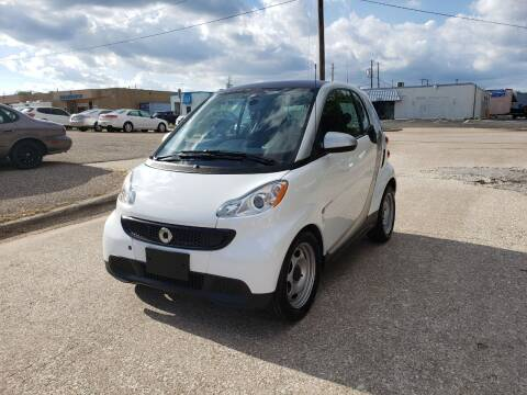 2013 Smart fortwo for sale at Image Auto Sales in Dallas TX