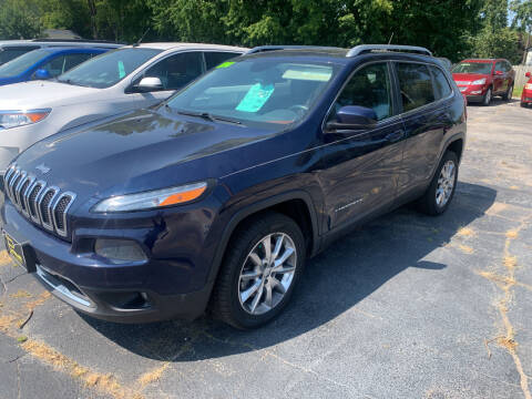 2014 Jeep Cherokee for sale at PAPERLAND MOTORS in Green Bay WI