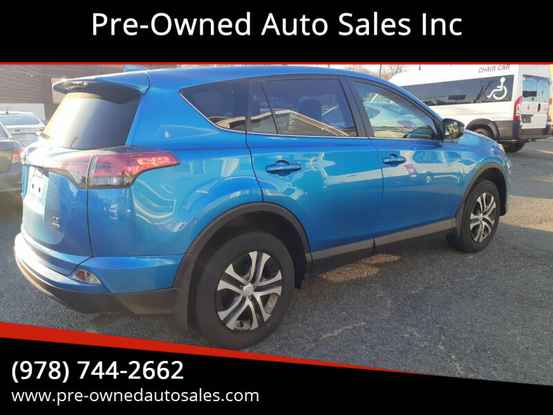 2018 Toyota RAV4 for sale at Pre-Owned Auto Sales Inc in Salem MA