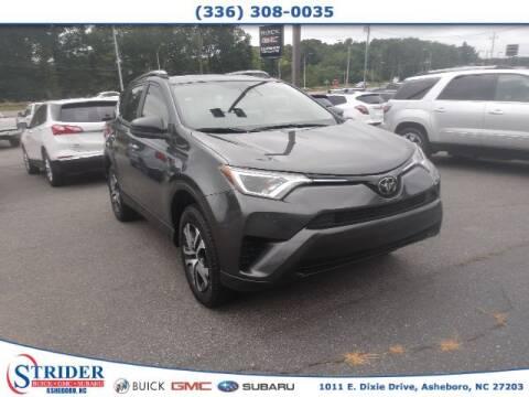 2018 Toyota RAV4 for sale at STRIDER BUICK GMC SUBARU in Asheboro NC