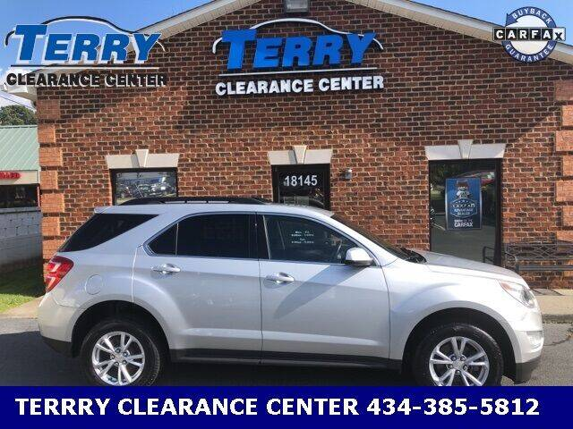 2017 Chevrolet Equinox for sale at Terry Clearance Center in Lynchburg VA