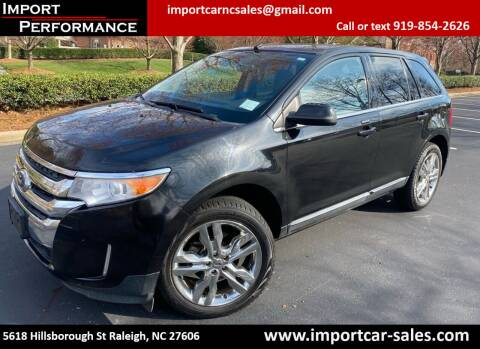2011 Ford Edge for sale at Import Performance Sales in Raleigh NC