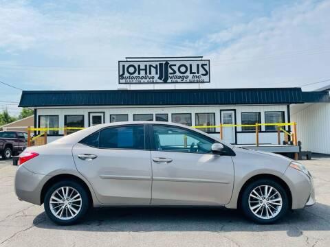 2014 Toyota Corolla for sale at John Solis Automotive Village in Idaho Falls ID