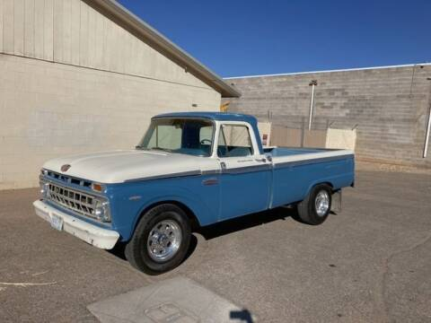 1965 Ford F-250 for sale at Classic Car Deals in Cadillac MI