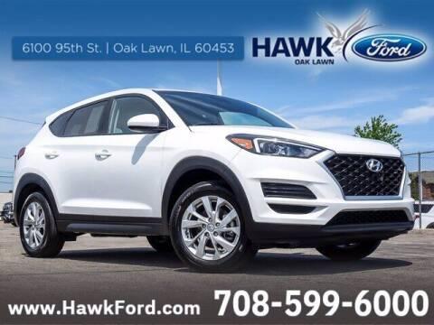 2019 Hyundai Tucson for sale at Hawk Ford of Oak Lawn in Oak Lawn IL