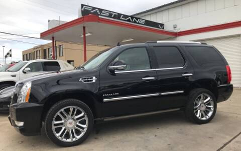 2013 Cadillac Escalade for sale at FAST LANE AUTO SALES in San Antonio TX