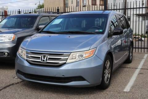 2012 Honda Odyssey for sale at EZ PASS AUTO SALES LLC in Philadelphia PA