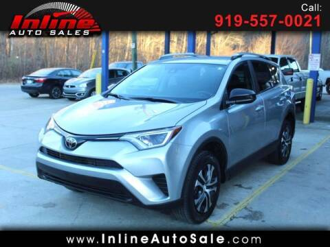 2018 Toyota RAV4 for sale at Inline Auto Sales in Fuquay Varina NC