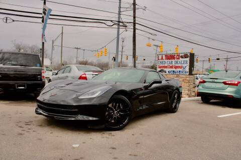 2014 Chevrolet Corvette for sale at L.A. Trading Co. in Woodhaven MI