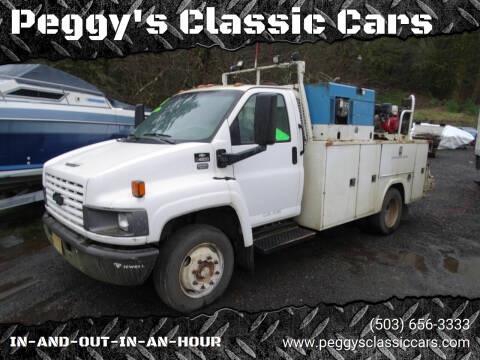 2004 Chevrolet MEDIOUM/ DUTY  SERVICE TRUCK for sale at Peggy's Classic Cars in Oregon City OR