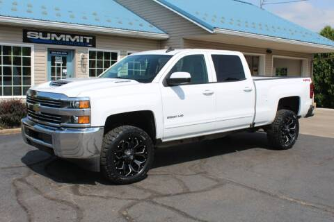 2018 Chevrolet Silverado 2500HD for sale at Summit Motorcars in Wooster OH