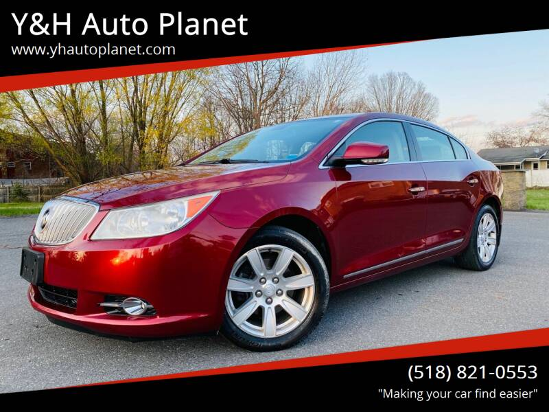 2011 Buick LaCrosse for sale at Y&H Auto Planet in West Sand Lake NY