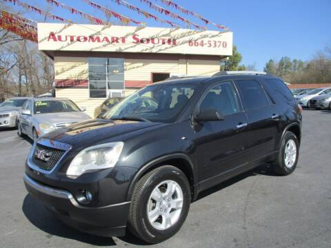 2012 GMC Acadia for sale at Automart South in Alabaster AL