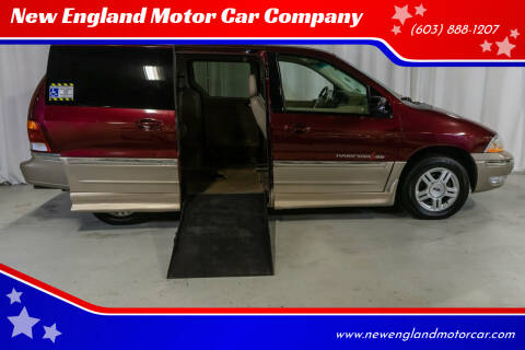 2001 Ford Windstar for sale at New England Motor Car Company in Hudson NH