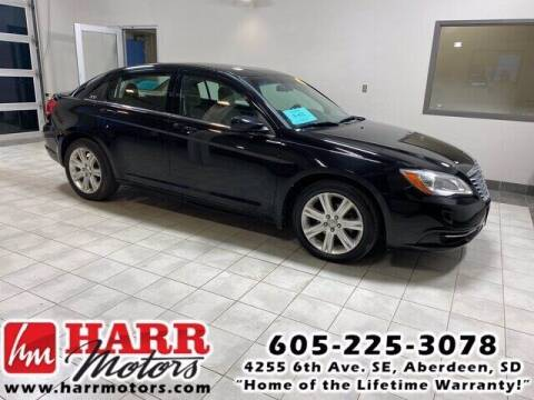 2012 Chrysler 200 for sale at Harr's Redfield Ford in Redfield SD
