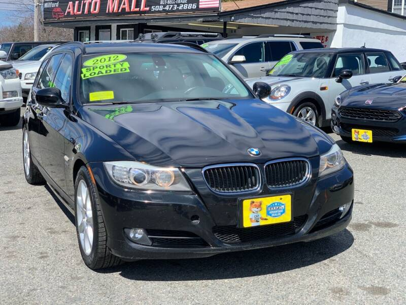 2012 BMW 3 Series for sale at Milford Auto Mall in Milford MA