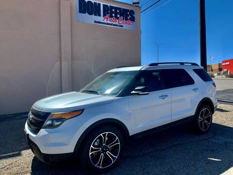 2013 Ford Explorer for sale at Don Reeves Auto Center in Farmington NM