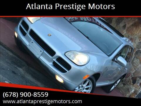 2005 Porsche Cayenne for sale at Atlanta Prestige Motors in Decatur GA