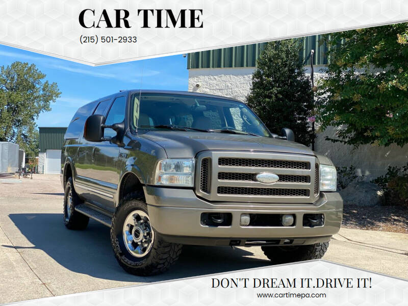 2005 Ford Excursion for sale at Car Time in Philadelphia PA