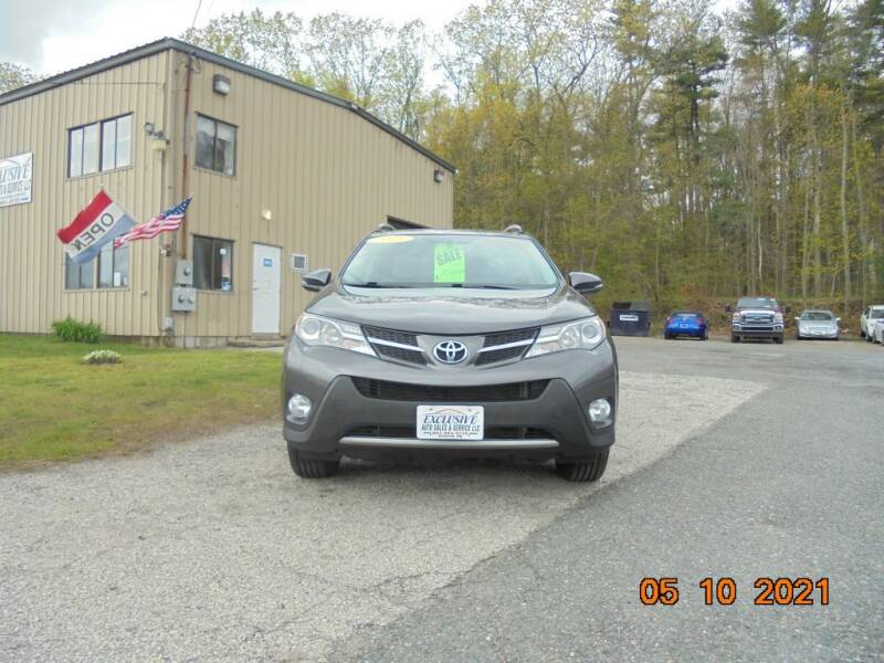 2015 Toyota RAV4 for sale at Exclusive Auto Sales & Service in Windham NH