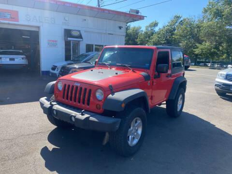 2013 Jeep Wrangler for sale at Vuolo Auto Sales in North Haven CT