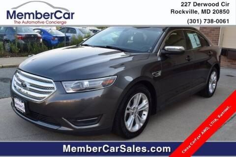 2015 Ford Taurus for sale at MemberCar in Rockville MD
