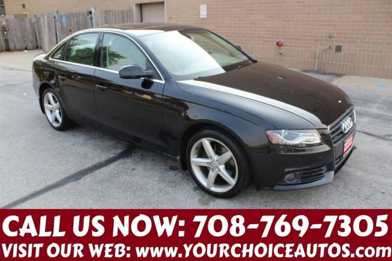 2010 Audi A4 for sale at Your Choice Autos in Posen IL