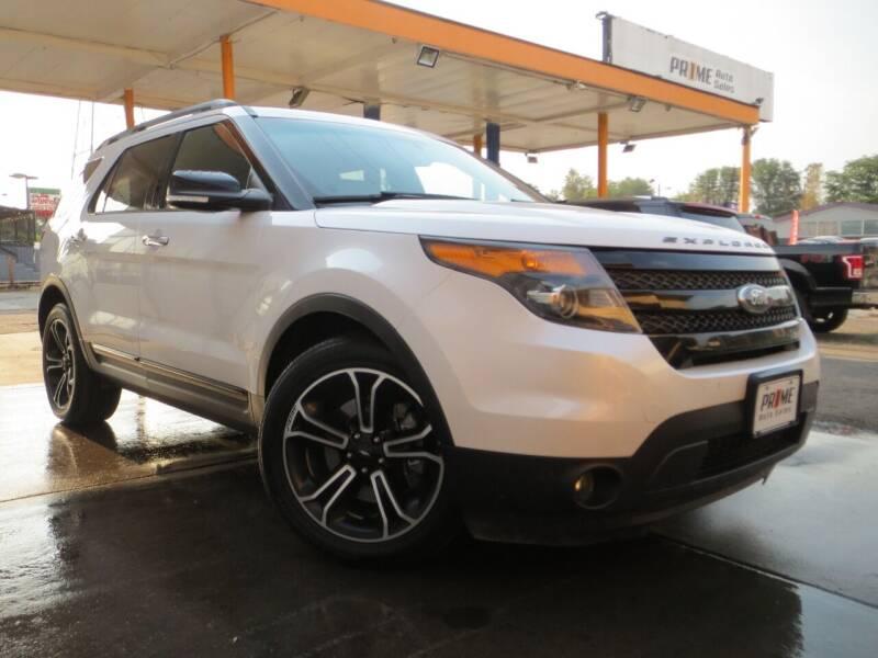 2014 Ford Explorer for sale at PR1ME Auto Sales in Denver CO