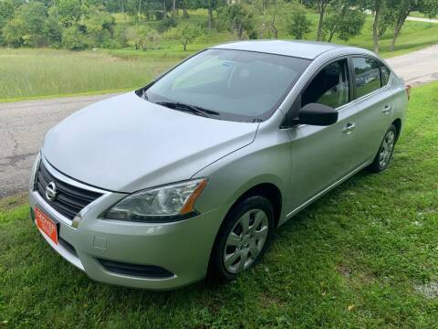 2015 Nissan Sentra for sale at GROVER AUTO & TIRE INC in Wiscasset ME