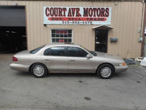 1997 Lincoln Continental for sale at Court Avenue Motors in Adel IA