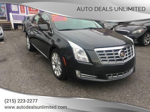 2015 Cadillac XTS for sale at AUTO DEALS UNLIMITED in Philadelphia PA