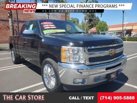 2013 Chevrolet Silverado 1500 for sale at The Car Store in Santa Ana CA