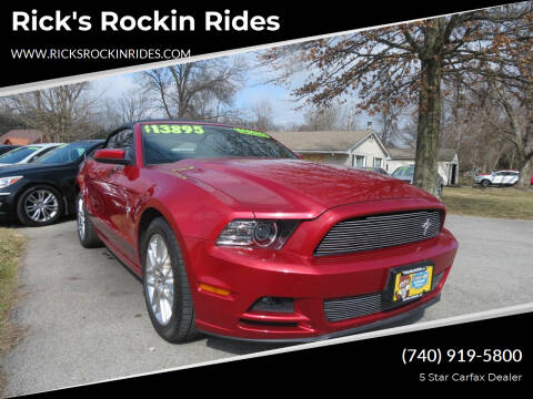 2013 Ford Mustang for sale at Rick's Rockin Rides in Reynoldsburg OH