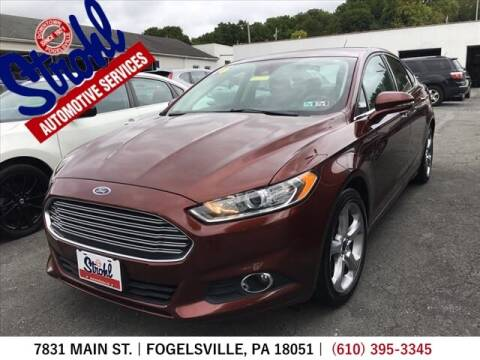 2016 Ford Fusion for sale at Strohl Automotive Services in Fogelsville PA