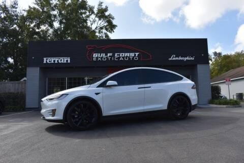 2019 Tesla Model X for sale at Gulf Coast Exotic Auto in Biloxi MS